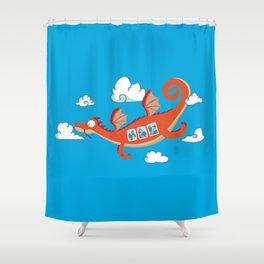 Dragonia Air Shower Curtain