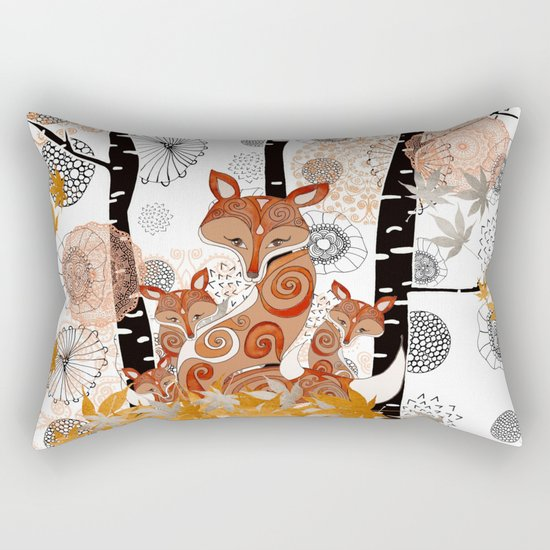 HELLO FOXY Rectangular Pillow