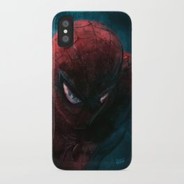 Spider-Man painting iPhone Case