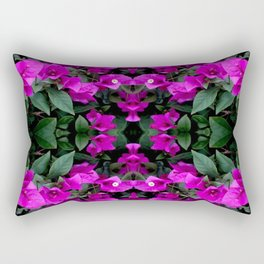 AWESOME AMETHYST PURPLE BOUGAINVILLEA VINES Rectangular Pillow