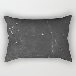 DARK GRUNGE TEXTURE I Rectangular Pillow