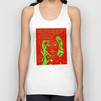 chad wys Tank Tops featuring chad for murder by Chad M. White