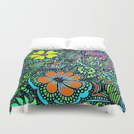 Because Color Brightens the World Duvet Cover