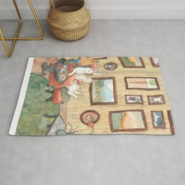 The Art Collector Rug
