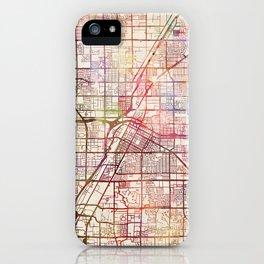 Las Vegas map 2 iPhone Case