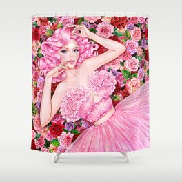 Flower Lover Shower Curtain