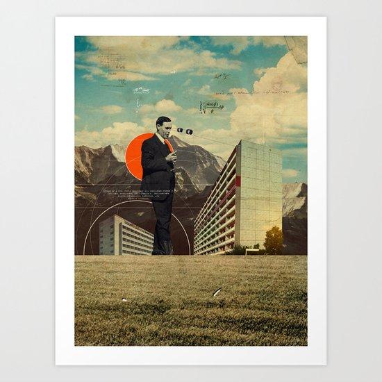 Φ (Phi) Art Print