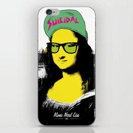 Mona Nerd Lisa iPhone Skin