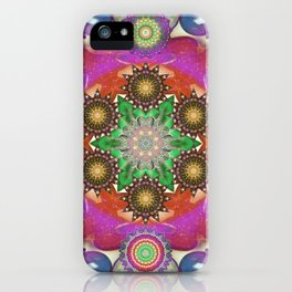 Elevation Mandala - The Mandala Collection iPhone Case