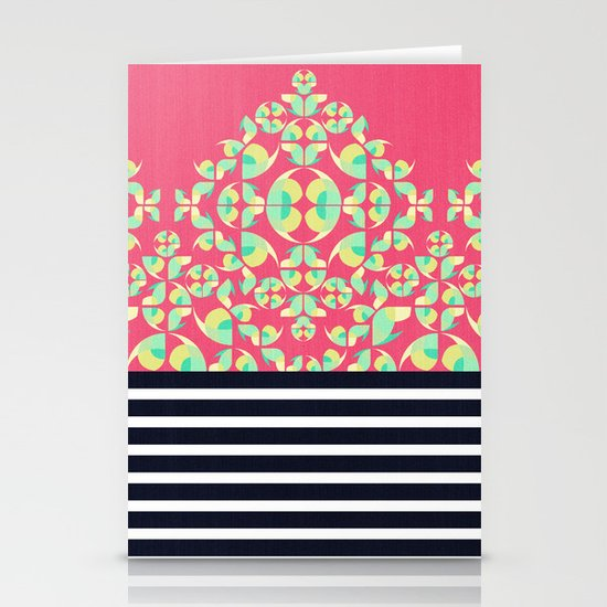 Sick of Chevrons Stationery Cards