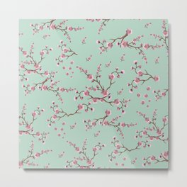 SAKURA  - PRETTY MINT Metal Print