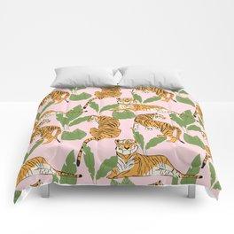 Tiger Pattern 008 Comforters