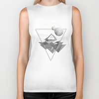 triforce Biker Tanks featuring Triforce by Bambi