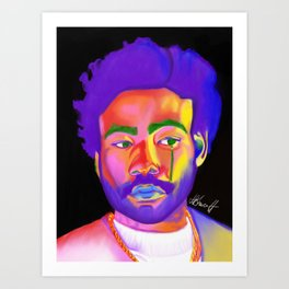 Childish Gambino aka Donald Glover Art Print