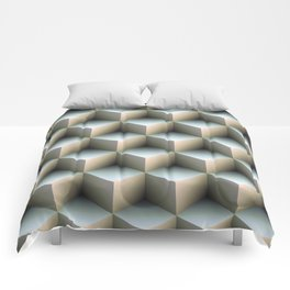 Ambient Cubes Comforters