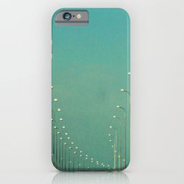 Road lamps iPhone Case