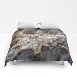 Petrified wood 3264 Comforters
