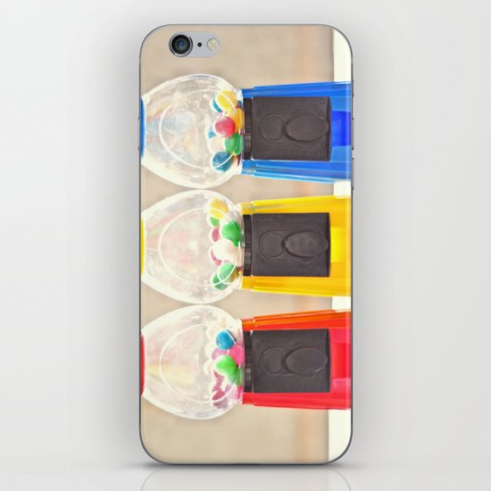 Bubble Gum in Primary  iPhone & iPod Skin