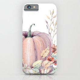 Autumn Pumpkin iPhone Case