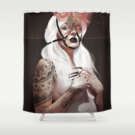 Tension Shower Curtain