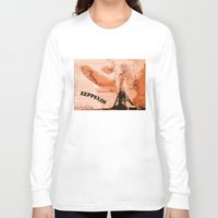 led zeppelin Long Sleeve T-shirts featuring Zeppelin by Avigur