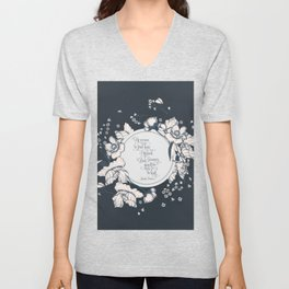 Ye werena the first lass I kissed. But I swear you'll be the last. Jamie Fraser Unisex V-Neck