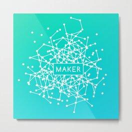 Maker System Metal Print
