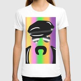 Gay Clone on Rainbow T-shirt
