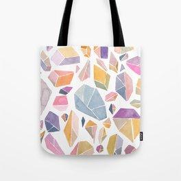 Geometric crystals Tote Bag