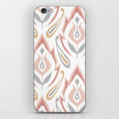 Peachy Ikat iPhone & iPod Skin
