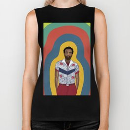The One and Only Childish Gambino Biker Tank