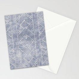 AMAI GEO DENIM Stationery Cards