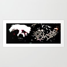 Sharp Art Print