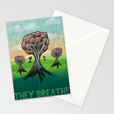 They Breathe Stationery Cards