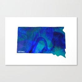 South Dakota State Canvas Print