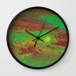 Reggae vibrations Wall Clock