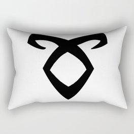 angelic rune Rectangular Pillow