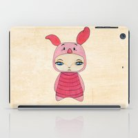 piglet iPad Cases featuring A Boy - Piglet (porcinet) by Christophe Chiozzi