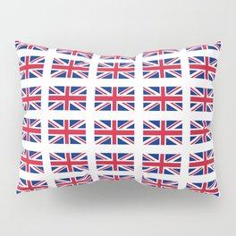 flag of uk 3 - London,united kingdom,england,english,british,great britain,Glasgow,scotland,wales Pillow Sham