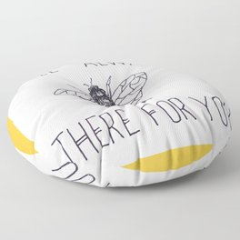 Bee There Floor Pillow