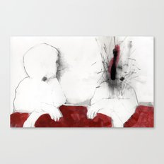 When the things I didn't say exploded my head Canvas Print