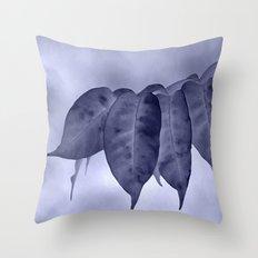 The curtain #2 Throw Pillow