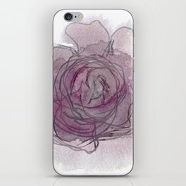 Rose - Abstract Watercolour iPhone Skin