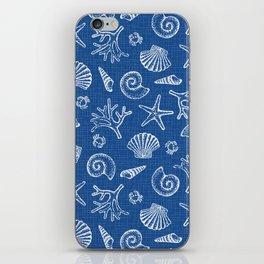 Lovely life on beach iPhone Skin
