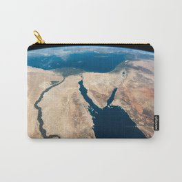 The Nile and the Sinai, to Israel and beyond. One sweeping glance of human history Carry-All Pouch