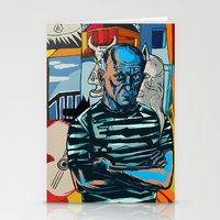 picasso Stationery Cards featuring Picasso by Nicolae Negura