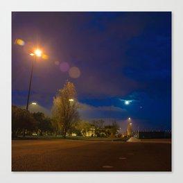 Lisbon night 4 Canvas Print