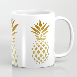 Golden Pineapple Coffee Mug
