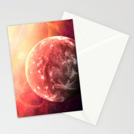 Planet Mercury Stationery Cards