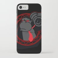 donkey kong iPhone & iPod Cases featuring Donkey Kong by La Manette